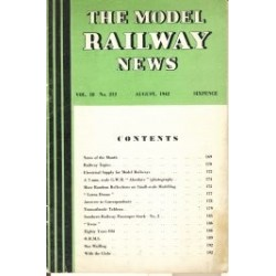 Model Railway News 1942 August