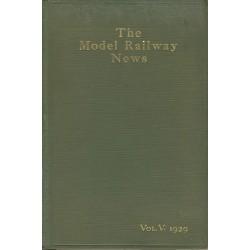 Model Railway News 1929 Bound Volume