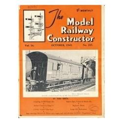 Model Railway Constructor 1949 October