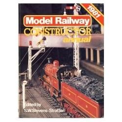 Model Railway Constructor Annual 1981