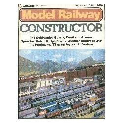 Model Railway Constructor 1980 september