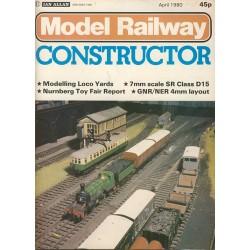 Model Railway Constructor 1980 April