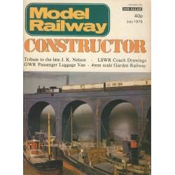 Model Railway Constructor 1979 July