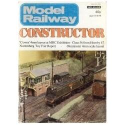 Model Railway Constructor 1979 April
