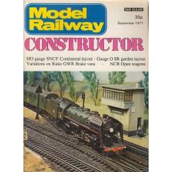 Model Railway Constructor 1977 September