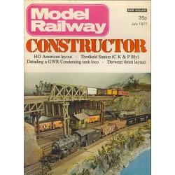 Model Railway Constructor 1977 July