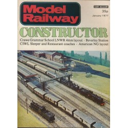 Model Railway Constructor 1977 January
