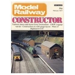 Model Railway Constructor 1977 February