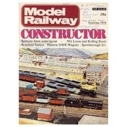 Model Railway Constructor 1975 November
