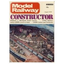 Model Railway Constructor 1975 August