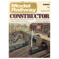 Model Railway Constructor 1973 September