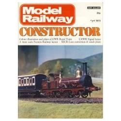 Model Railway Constructor 1973 April