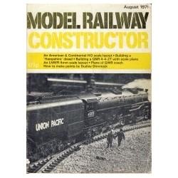 Model Railway Constructor 1971 August