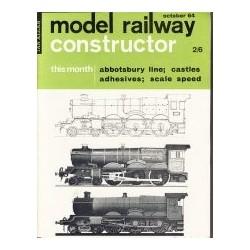 Model Railway Constructor 1964 October