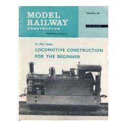 Model Railway Constructor 1964 February
