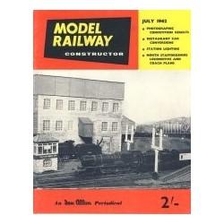 Model Railway Constructor 1962 July