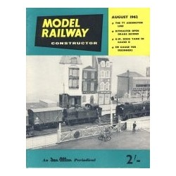 Model Railway Constructor 1962 August