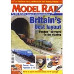 Model Rail 2004 September