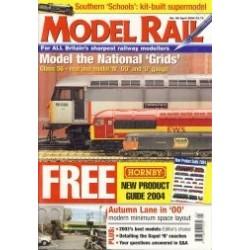 Model Rail 2004 April