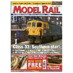 Model Rail 2002 April