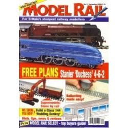Model Rail 1999 September