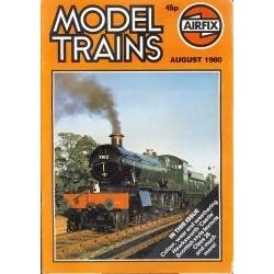 Model Trains 1980 August