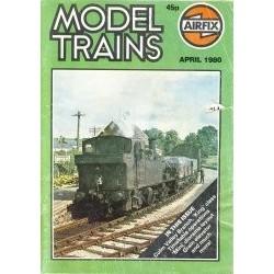 Model Trains 1980 April