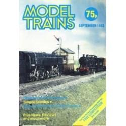 Model Trains 1983 September