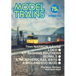 Model Trains 1983 October