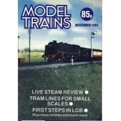 Model Trains 1983 November