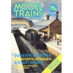 Model Trains 1983 May