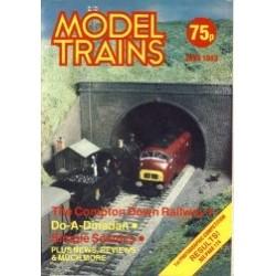 Model Trains 1983 June