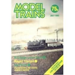 Model Trains 1983 July