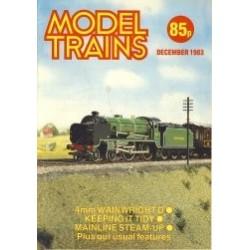 Model Trains 1983 December