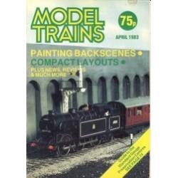 Model Trains 1983 April