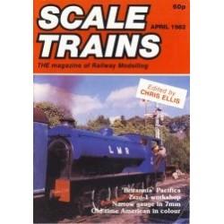 Scale Trains 1982 April