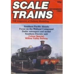 Scale Trains 1982 November
