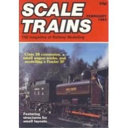 Scale Trains 1983 February