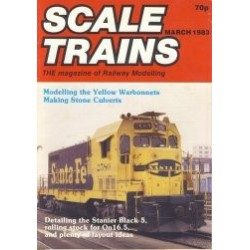 Scale Trains 1983 March