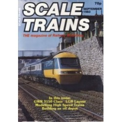 Scale Trains 1983 September