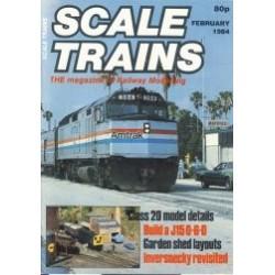Scale Trains 1984 February