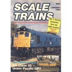 Scale Trains 1984 January