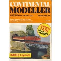 Continental Modeller 1989 March/April