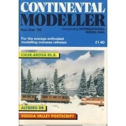 Continental Modeller 1989 November/December