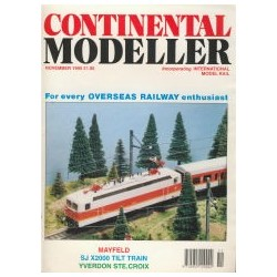 Continental Modeller 1995 November