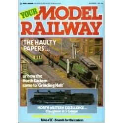 Your Model Railway 1985 November