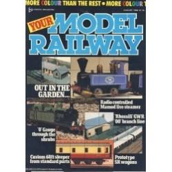 Your Model Railway 1986 August