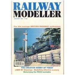 Railway Modeller 1993 January