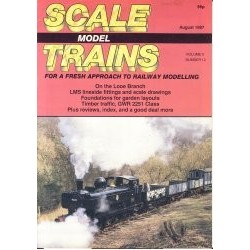 Scale Model Trains 1987 August