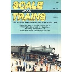 Scale Model Trains 1987 May